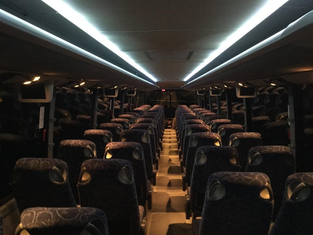56 Passenger Coach Bus