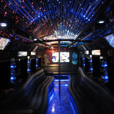 32 Passenger Party Bus